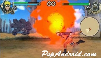 Naruto Shippuden Ultimate Ninja Impact PPSSPP
