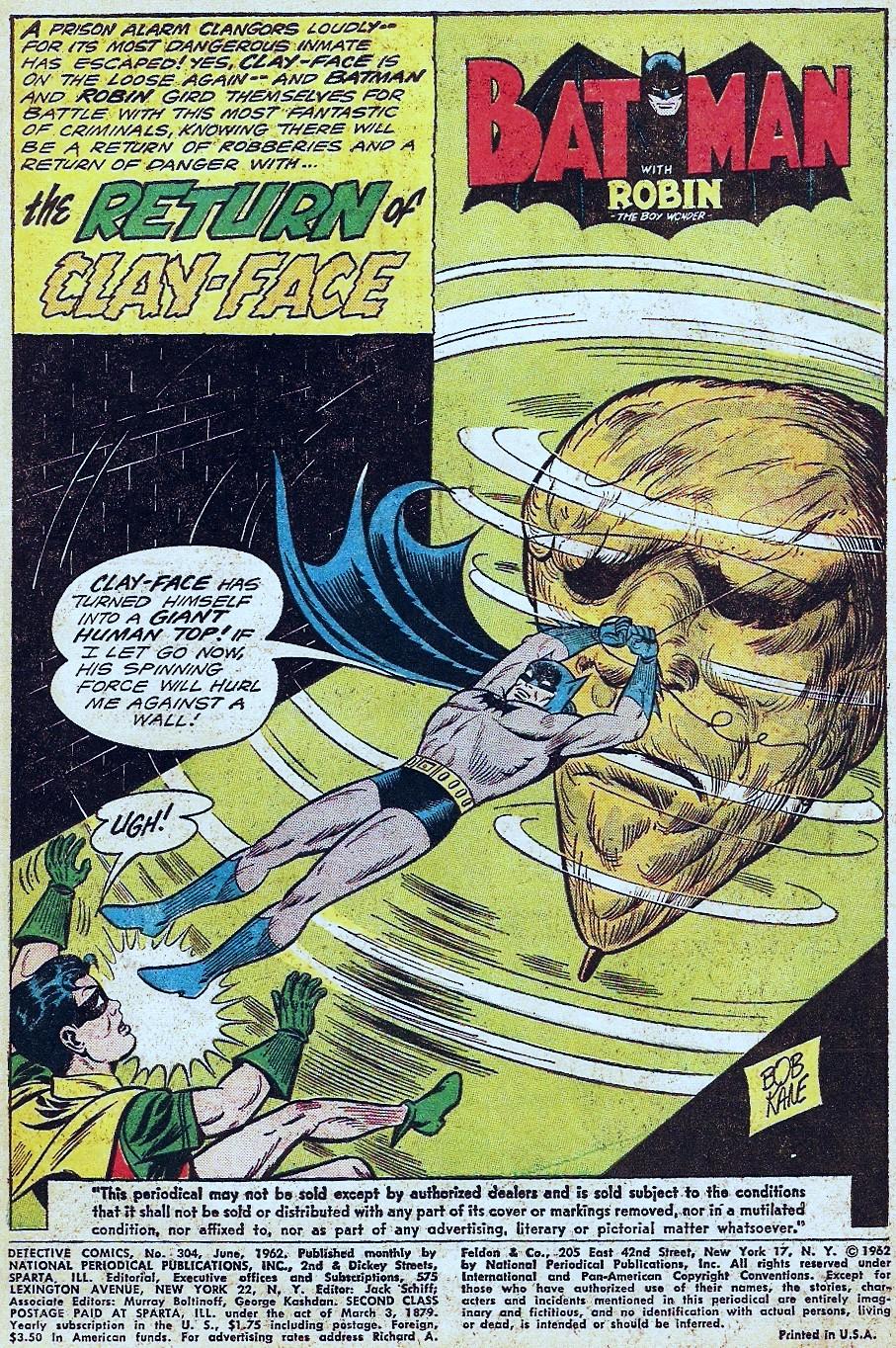 Detective Comics (1937) 304 Page 2