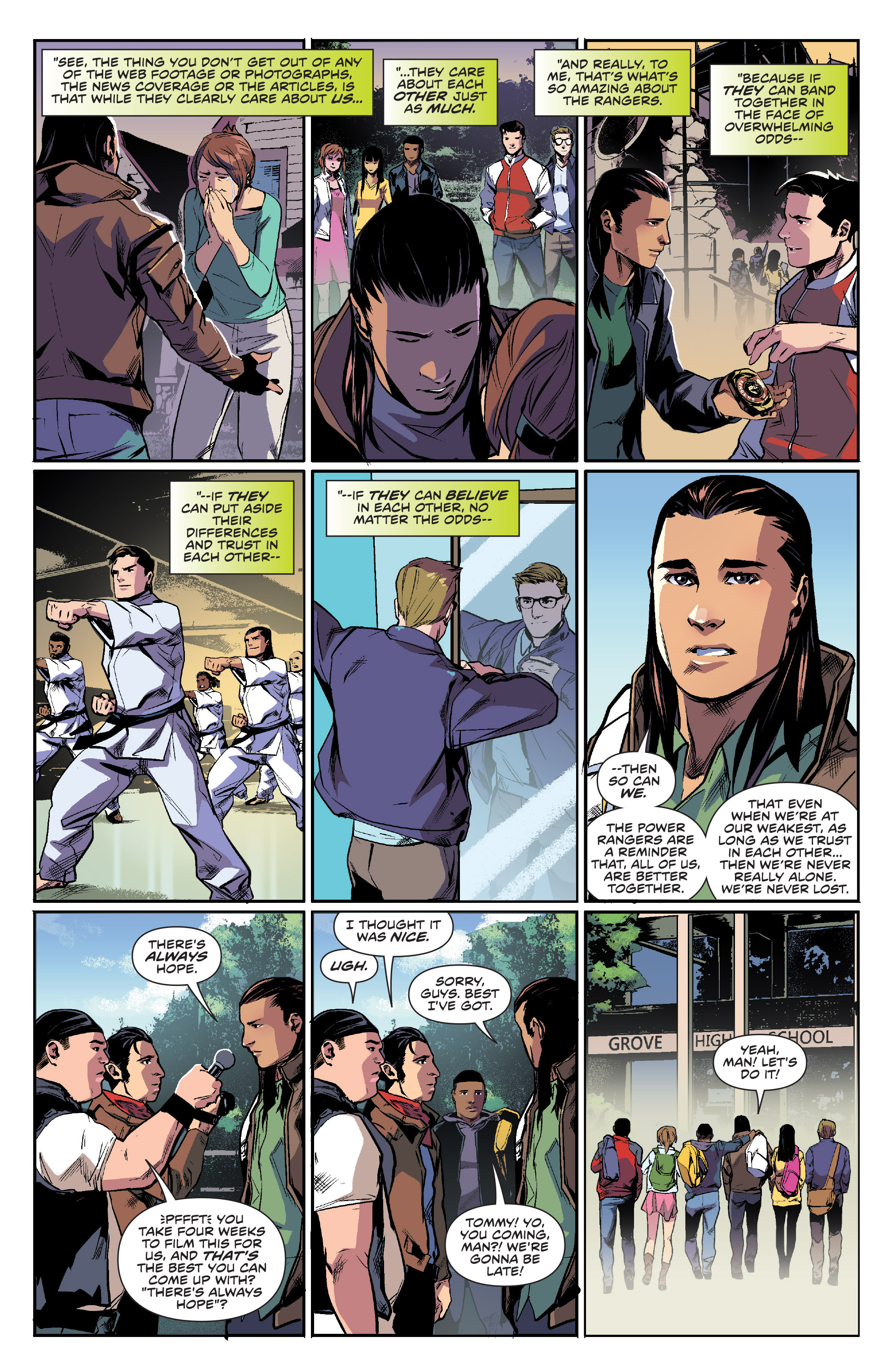 Read online Mighty Morphin Power Rangers comic -  Issue #16 - 19