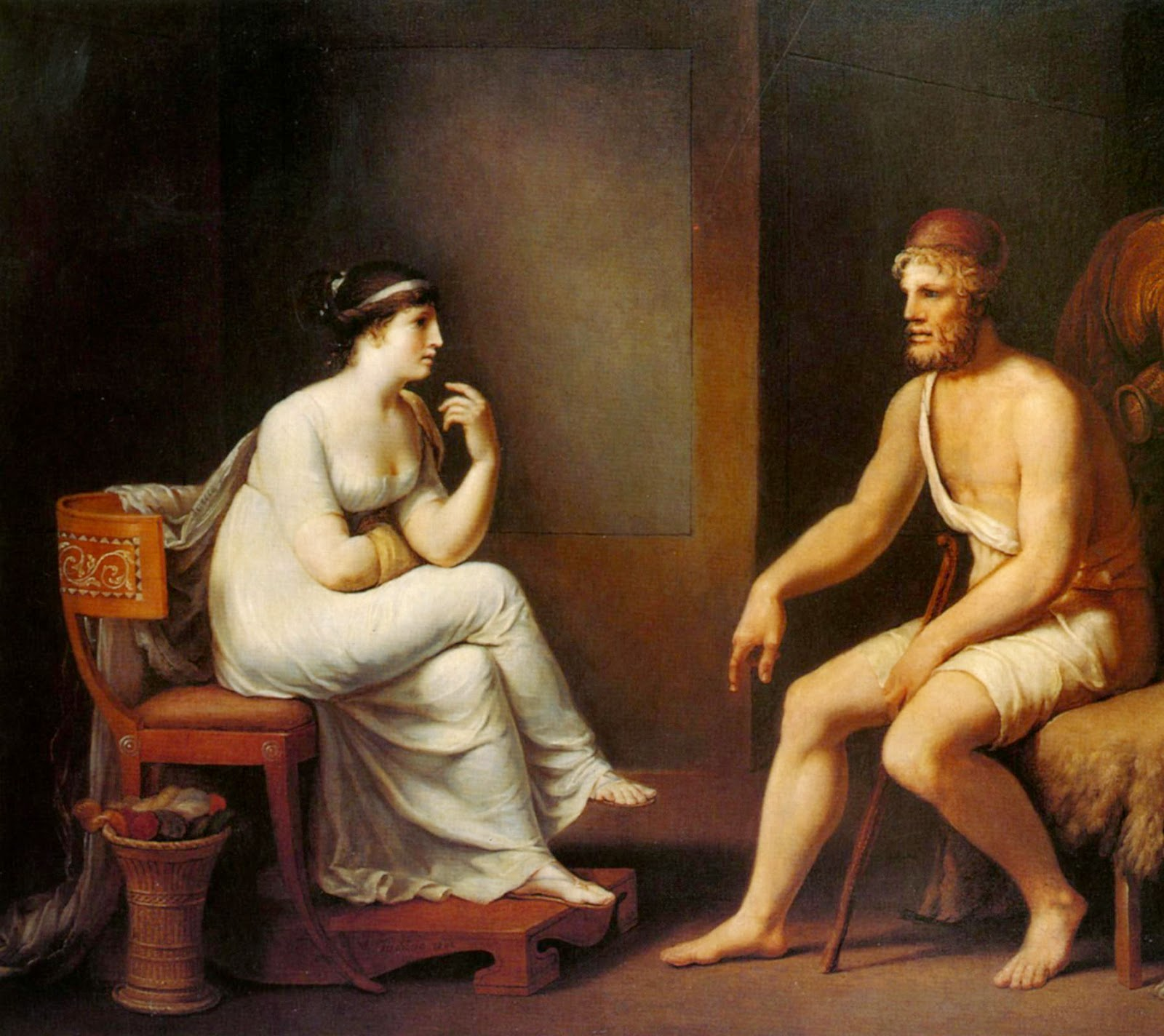 odysseus and penelopes relationship advice