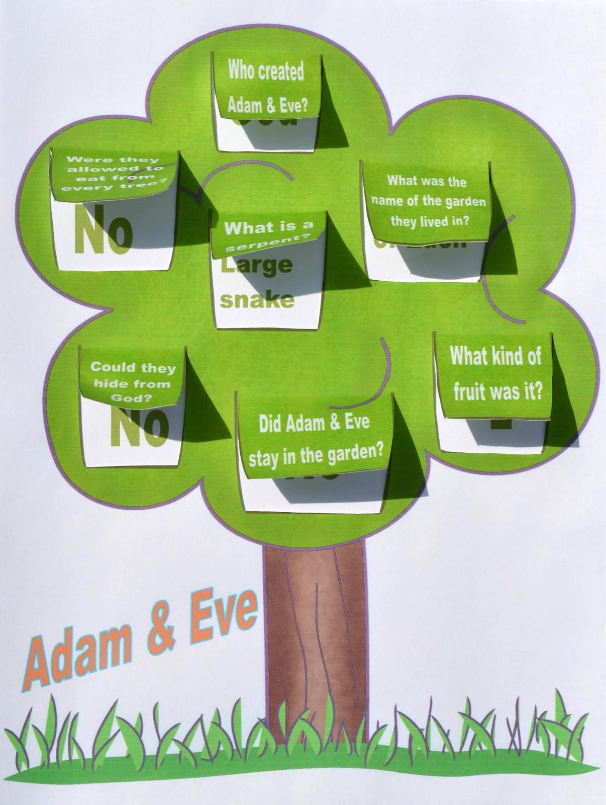Bible Fun For Kids Genesis Series Adam Amp Eve