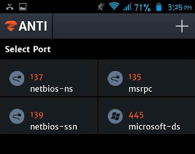 Conectar con el puerto remoto