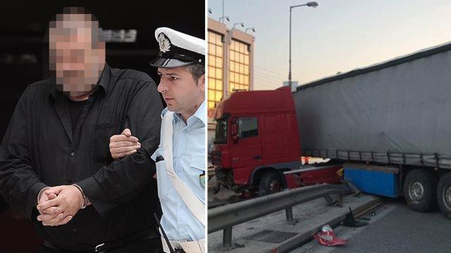 Κηφισός: «Δεν παραπατούσε από το ποτό, είχε κόψει τένοντα», λέει η αδελφή του οδηγού της νταλίκας