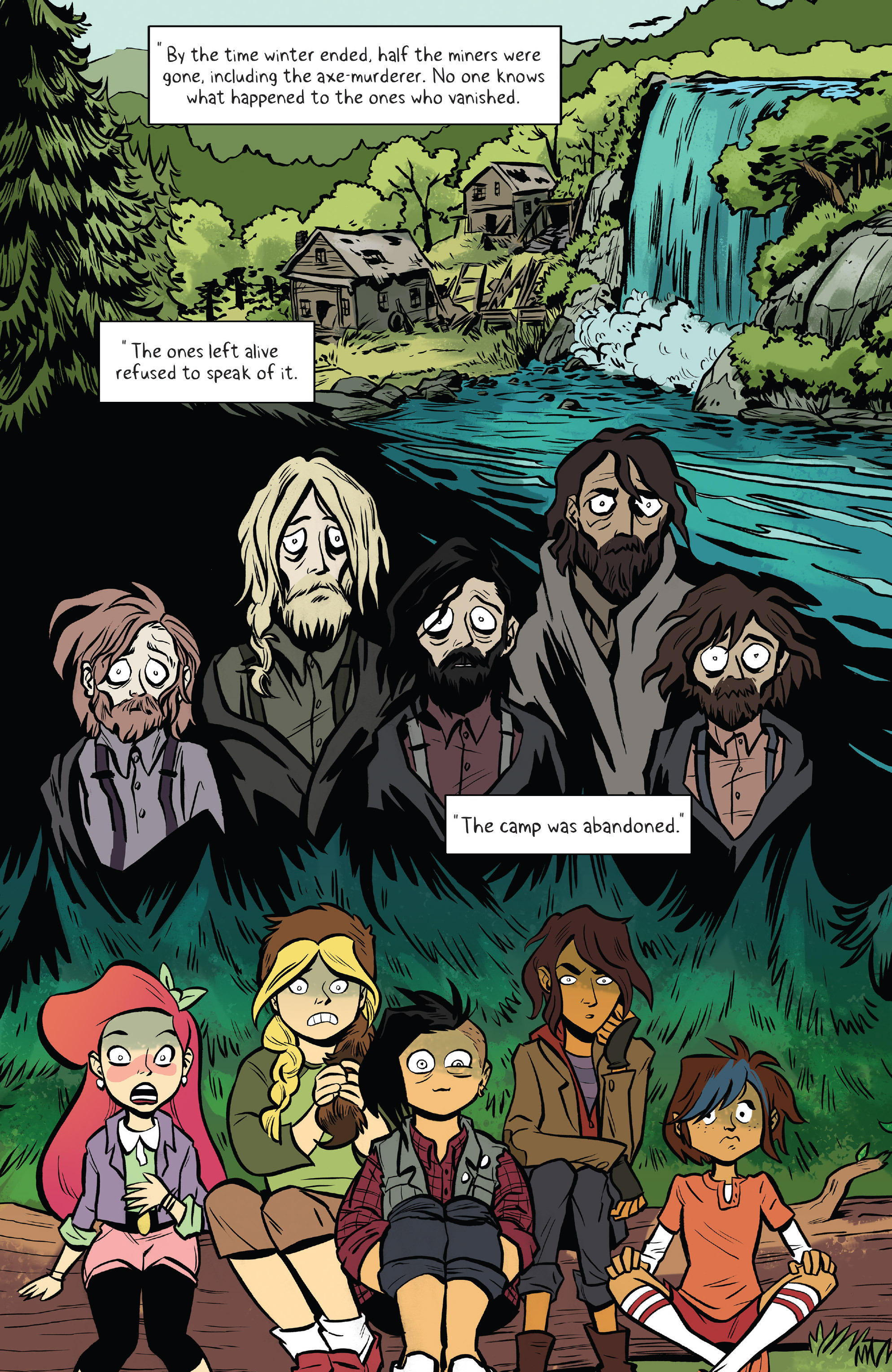 Read online Lumberjanes: Makin' the Ghost of It 2016 Special comic -  Issue # Full - 8
