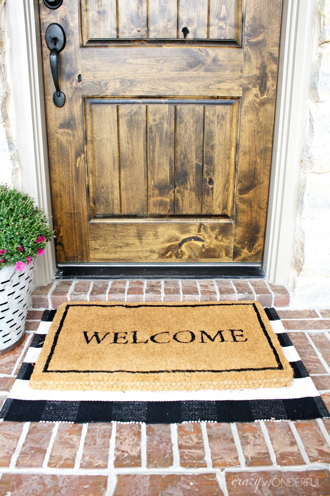 Door Mats Donu0027t Usually Get Much Attention, But Now It Is Hard To Not  Notice. There Are So Many Great Combinations You Could Create.