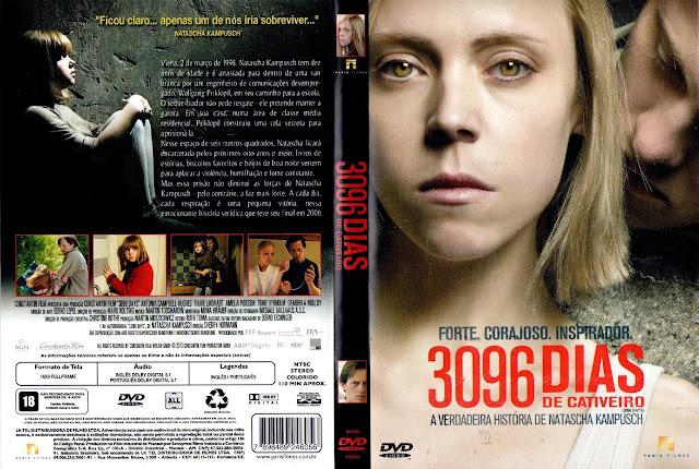 Capa DVD 3096 DIAS DE CATIVEIRO