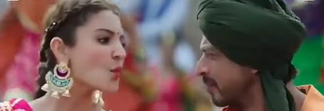 Shah Rukh Khan Anushka Sharma Butterfly Song