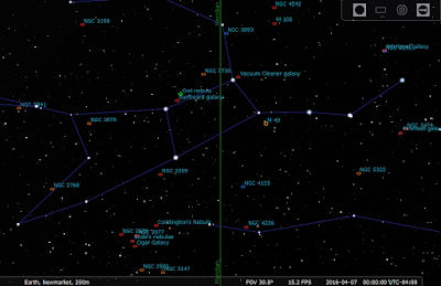 screen shot from Stellarium for region around Ursa Major