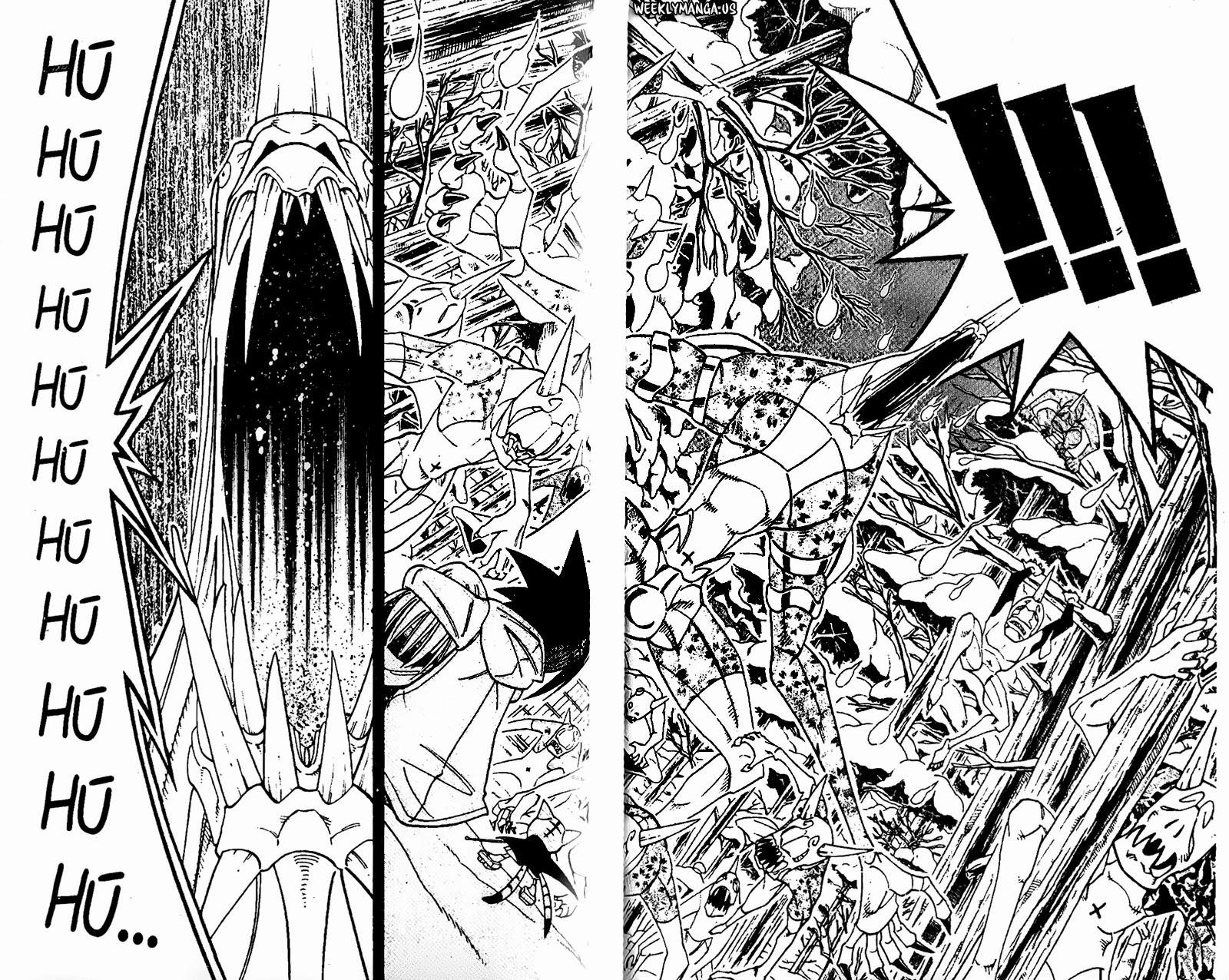 Shaman King [Vua pháp thuật] chap 171 trang 17