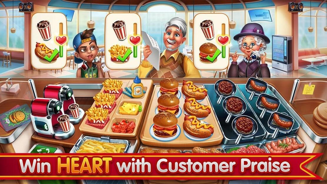 Cooking City v 1.76.5017 apk mod DIAMANTES INFINITOS