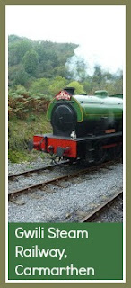Gwili Steam Railway near Camarthen