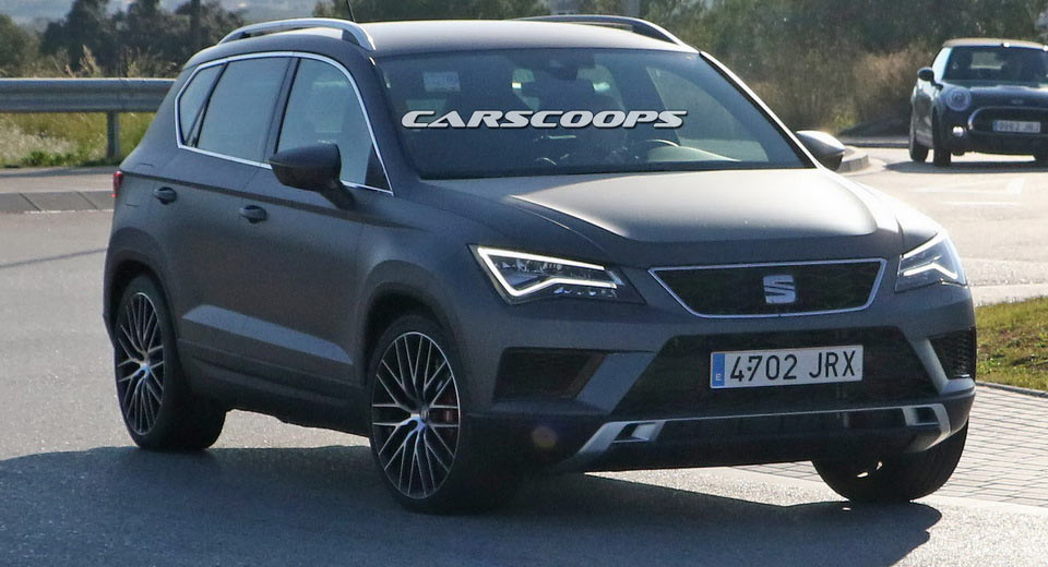 hot seat ateca cupra spotted on public roads completely. Black Bedroom Furniture Sets. Home Design Ideas