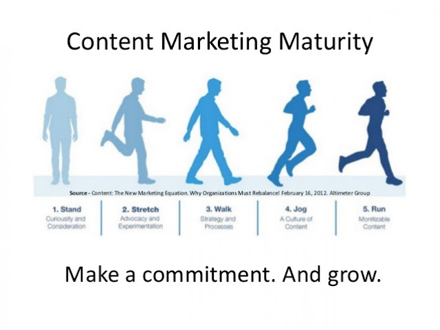 Ebriks Content marketing growth chart