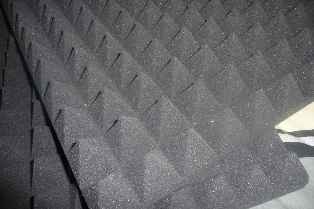 12 x Akustikschaumstoff ca Schaumstoff Noppenschaum Anthrazit Schwarz B-Ware in gepr/üfter Qualit/ät nochmals bis zu 50/% reduziert! 50x50x5cm