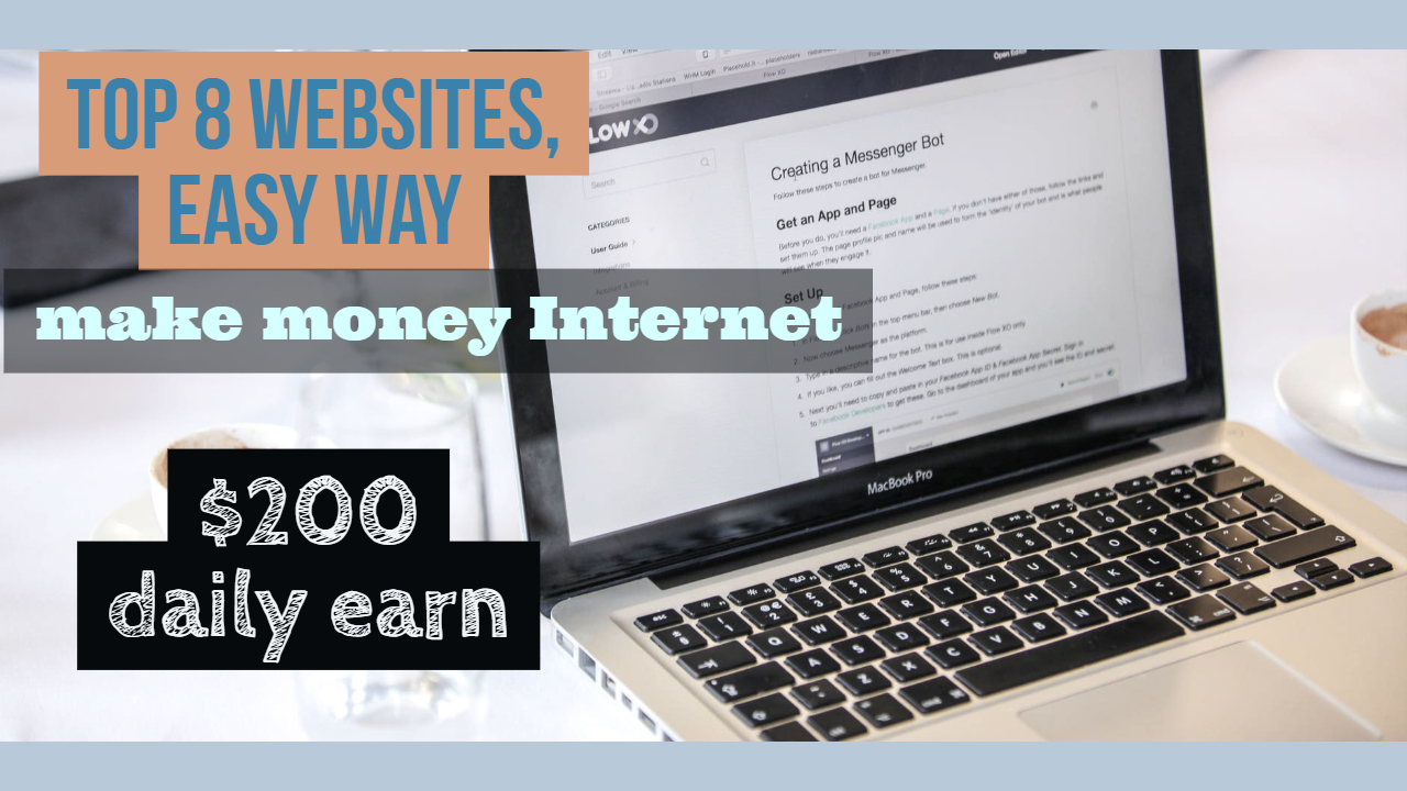 top 8 websites earn daily $200 » TRONZI