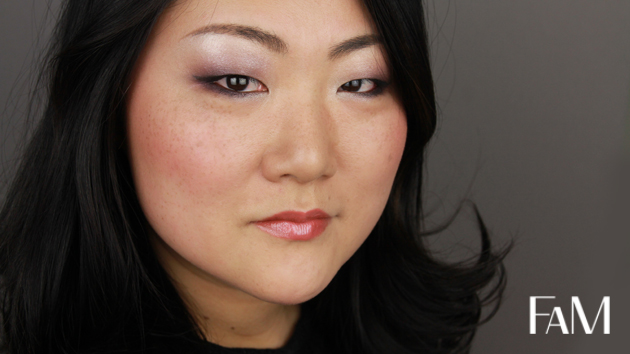 Lancôme Color Design Mauve Cherie Palette - Makeup tutorial on asian monolid