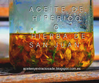 El aceite de hipérico o Hierba de San Juan es uno de los más populares gracias a sus propiedades curativas