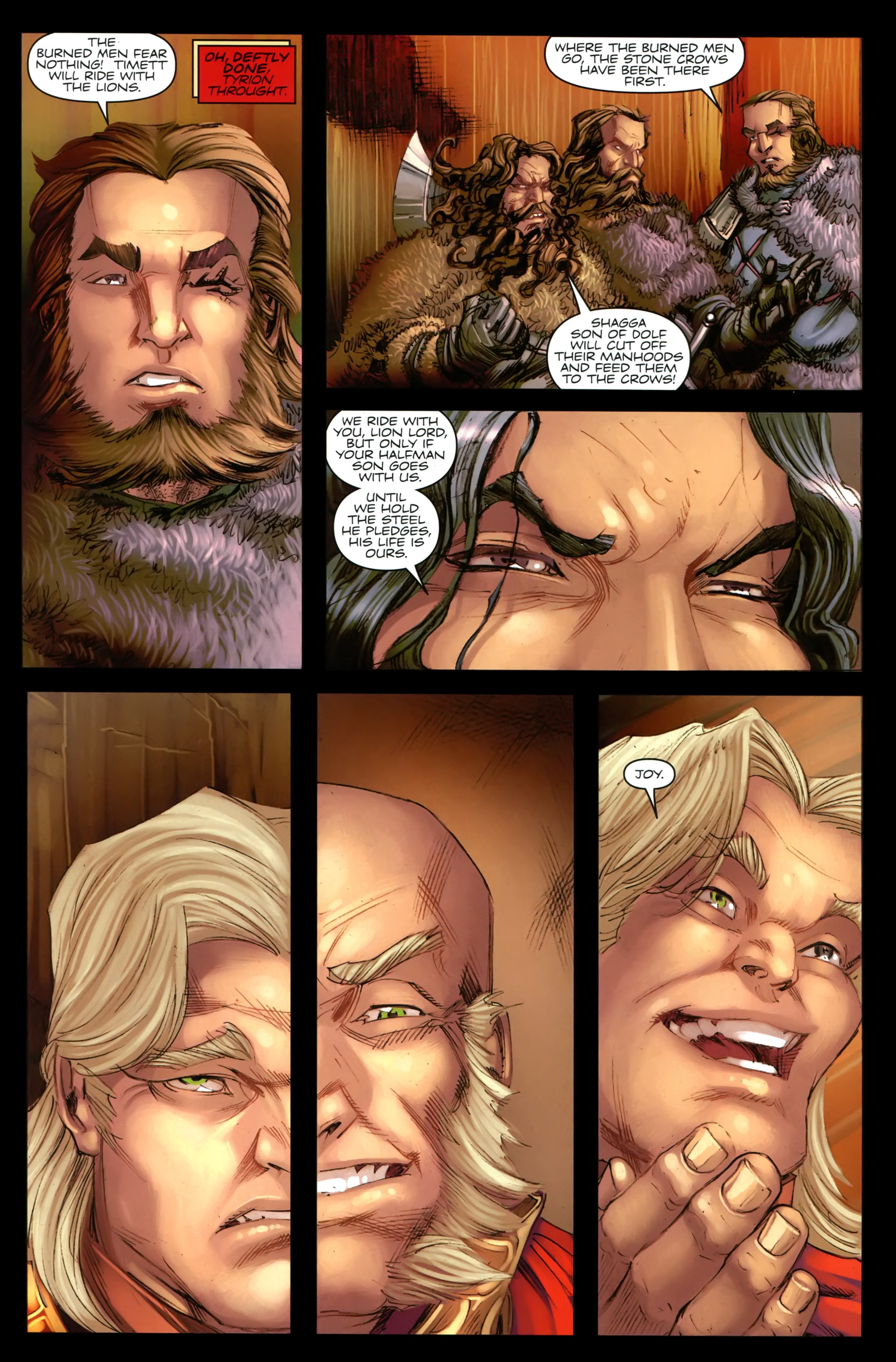 Read online A Game Of Thrones comic -  Issue #19 - 15