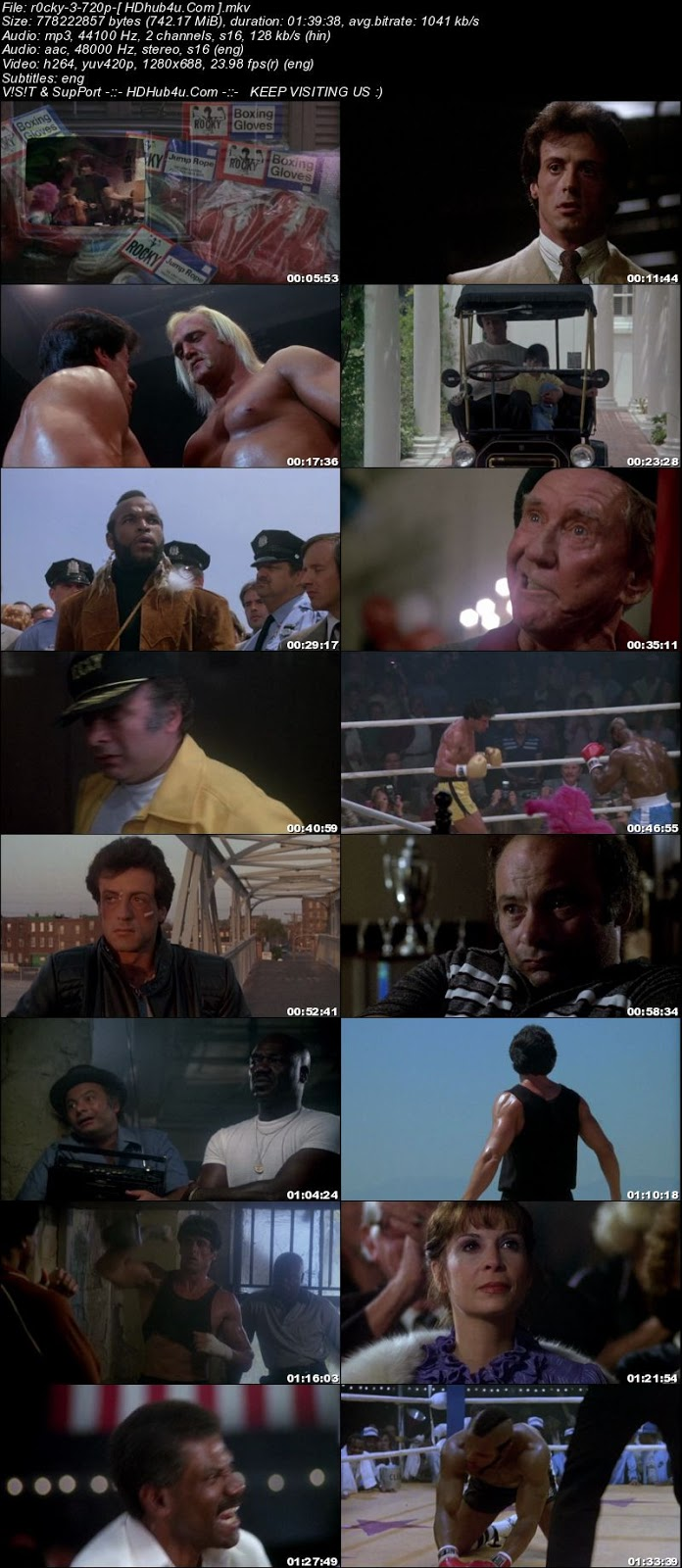 Rocky III 1982 Hindi Dual Audio 720p BluRay Esubs 700mb Download