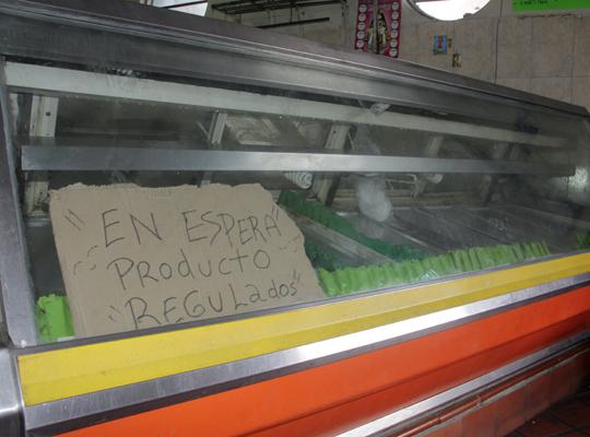 Madrugonazo carnívoro : La carne amaneció en 45.000 Bs el kilo