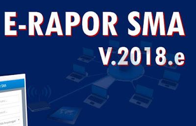 Download Panduan penggunaan Manajemen penilaian digital E-Rapor SMA V.2018.e