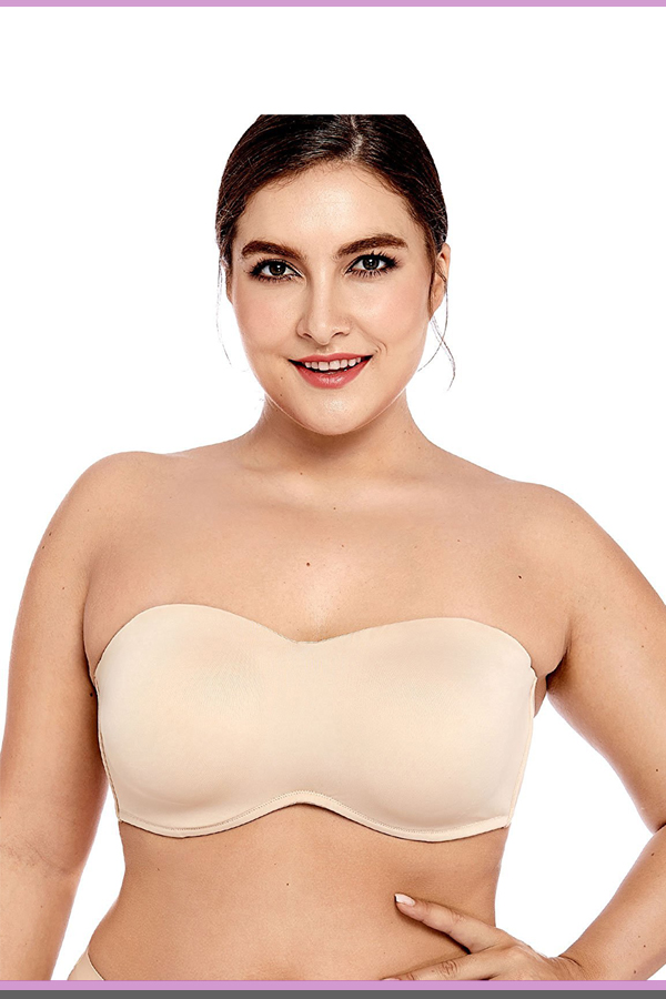 Bras For Large Breast Strapless Bras For Large Breasts-9358
