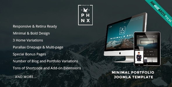 Best New Premium Joomla Template 2015