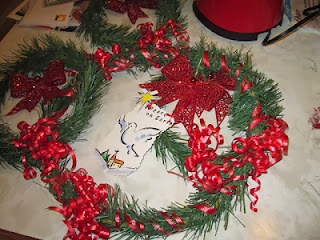 tutorial for stretching dollars with wreath making