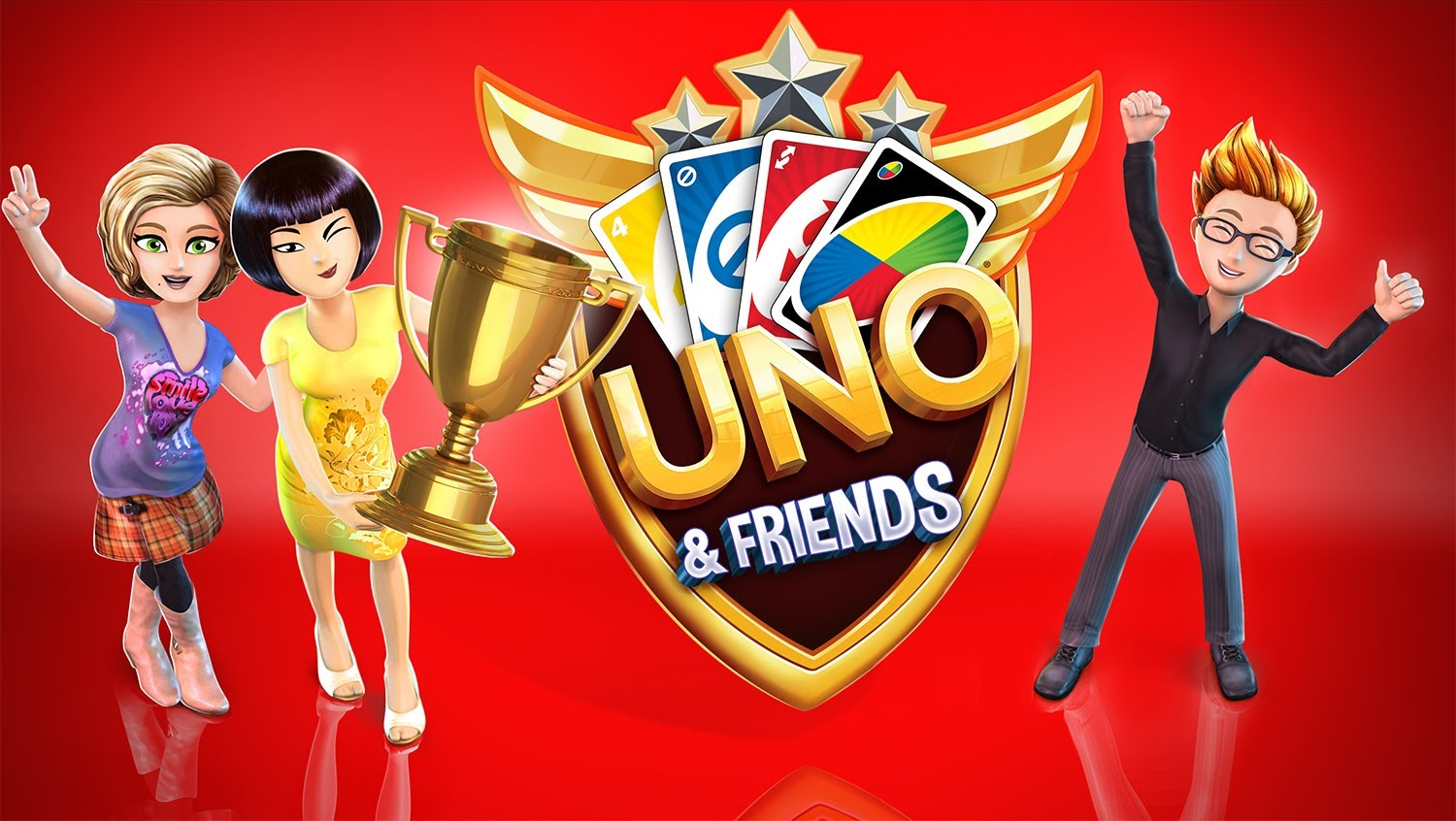 UNO and Friends APK Mod 2.8.0e+Data (Unlocked avatars, items)