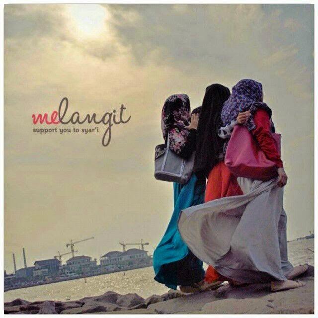muslimah berhijab syar'i photography