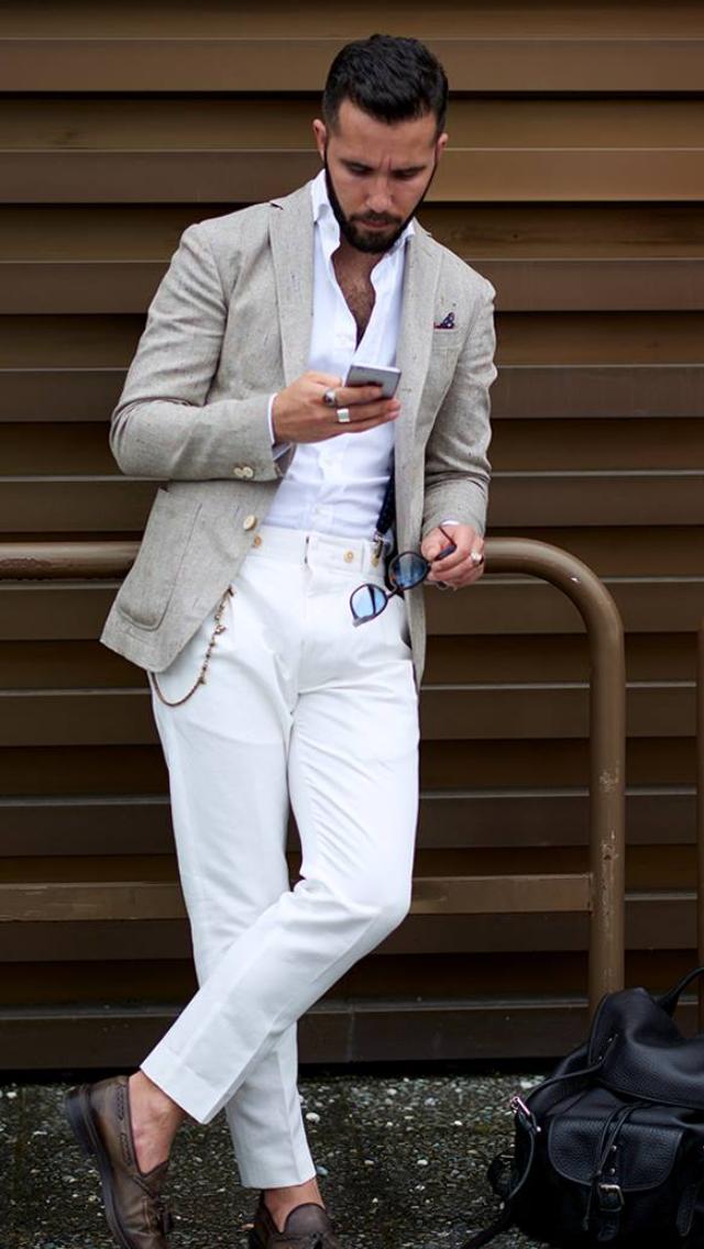 Men's Casual Office Wear - Fashion Style Tips