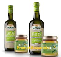 Logo Monini ''Le api fanno l'olio'': vinci forniture annuali di prodotti Monini e richiedi buono da 5€ premio sicuro!
