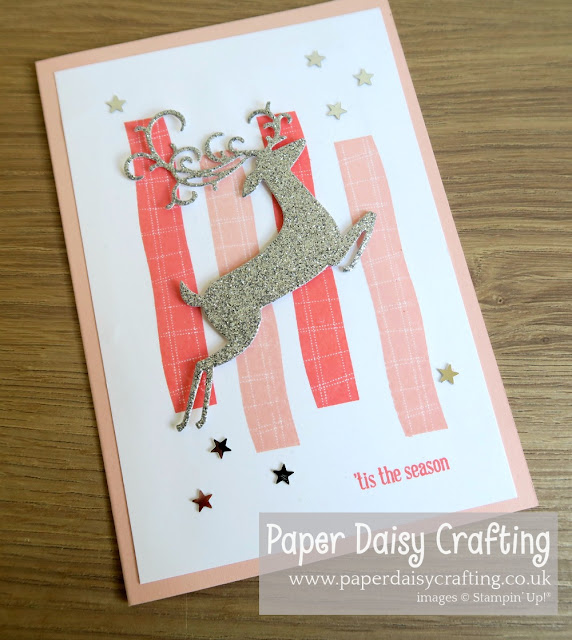 Detailed Dashing Deer with Little Elephant from Stampin Up