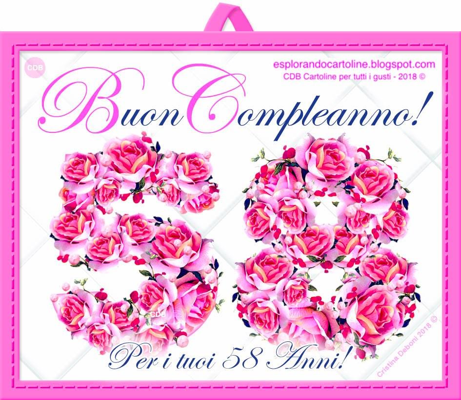 Auguri Buon Compleanno 55 Anni.Cdb Cartoline Per Tutti I Gusti Cartolina Tantissimi