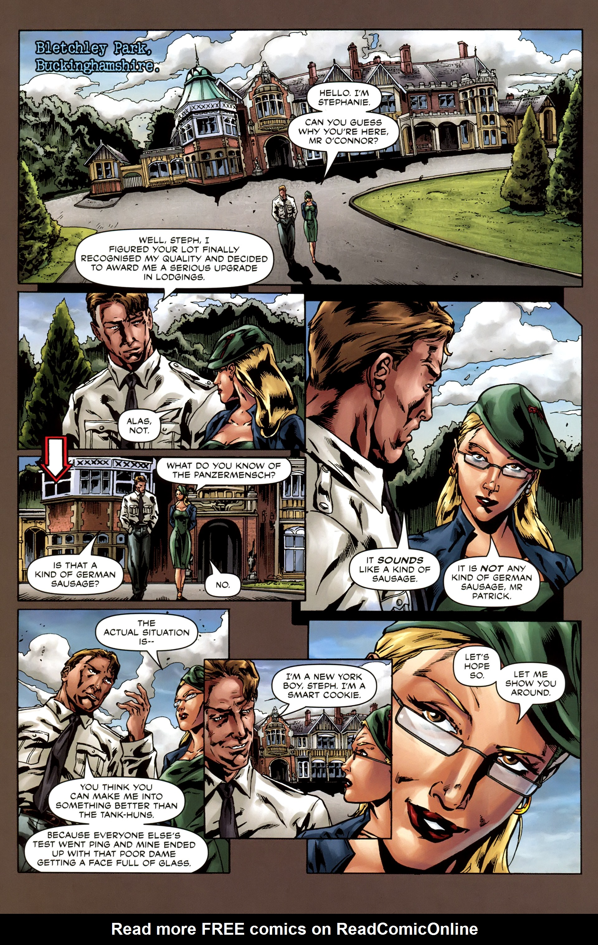 Read online Uber comic -  Issue #3 - 23