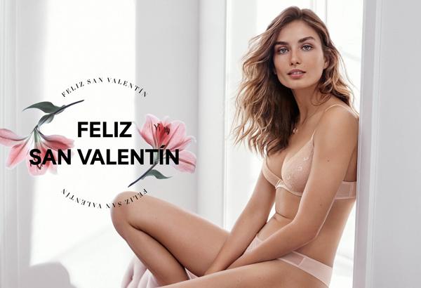 lencería de H&M para San Valentín 2016