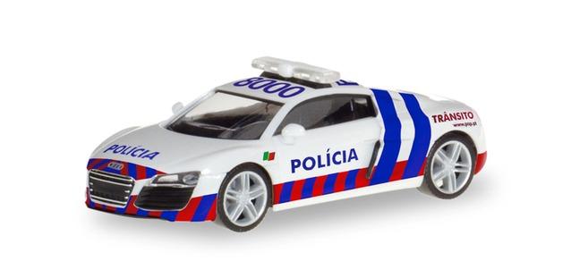 """Befehlskraftwagen/"""" Herpa 309615-1//87 MB SK Koffer-Sattelzug /""""Polizei Sachsen"""
