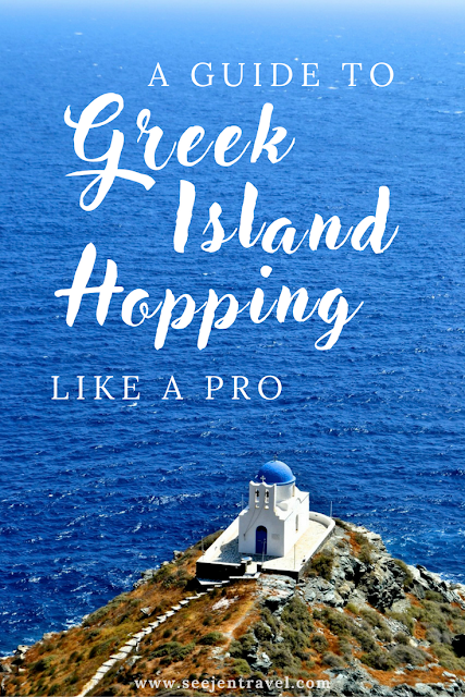 greek islands vacation - greek island hopping routes