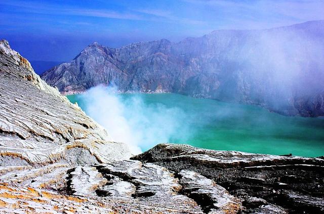 Ijen Crater Volcano