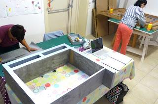 Stage créatif objets et meubles en carton atelier Cartons Dudulle Albi