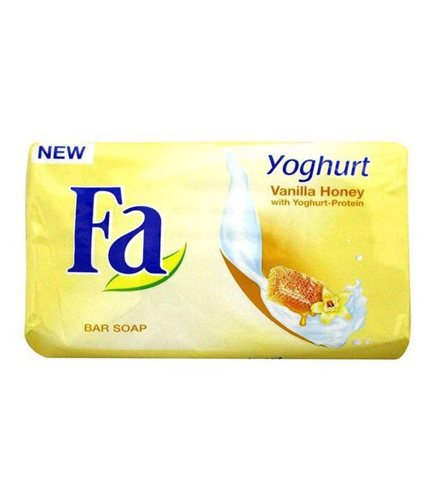 FA Yoghurt Vanilla Honey Soap 175G