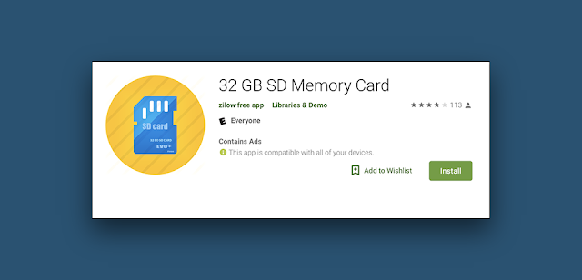 A New And Strange Lication In Google Play Lets You 32gb Sd Card Without