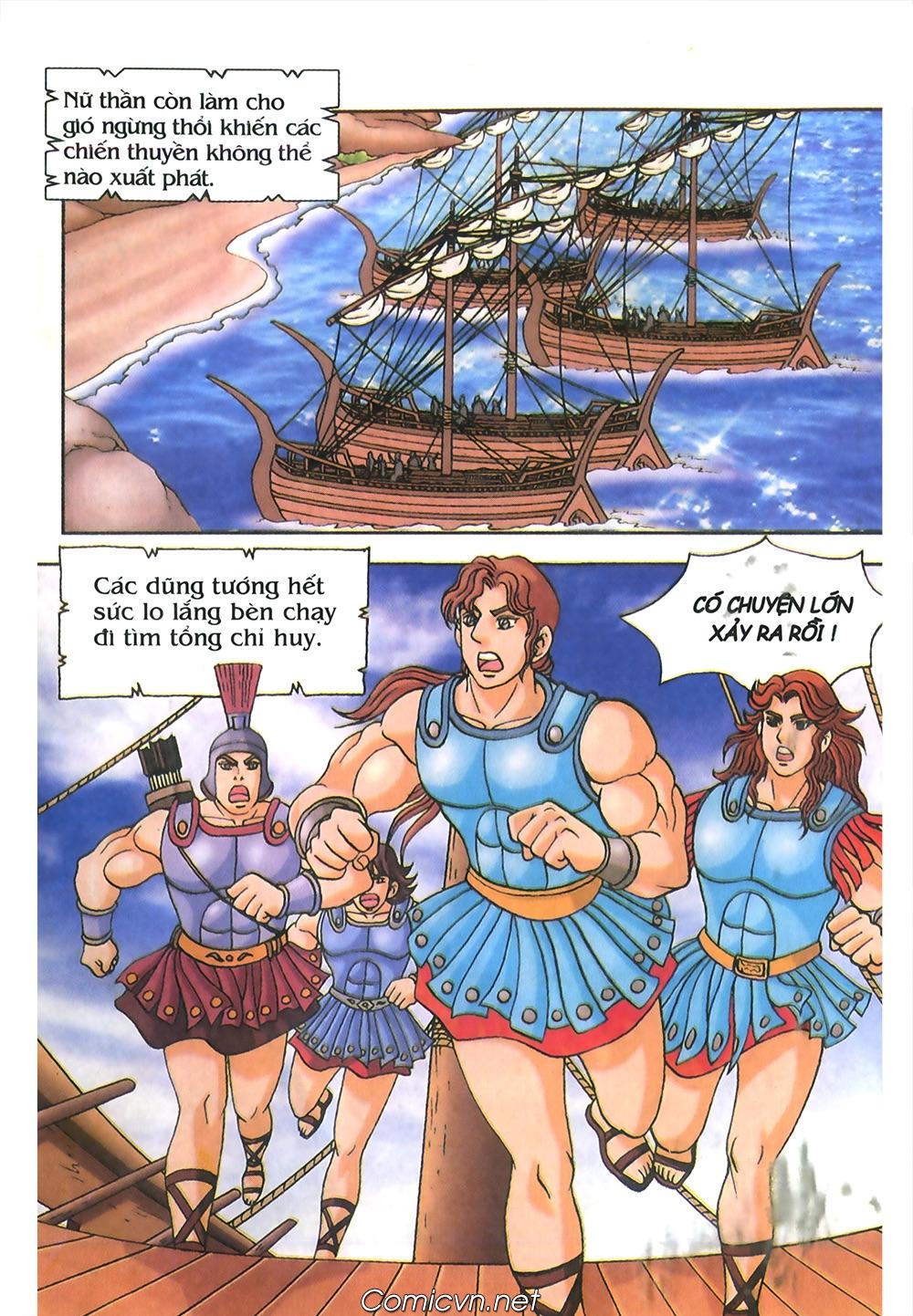 Thần Thoại Hy Lạp Màu - Chapter 53: Trước giờ xung trận - Pic 14