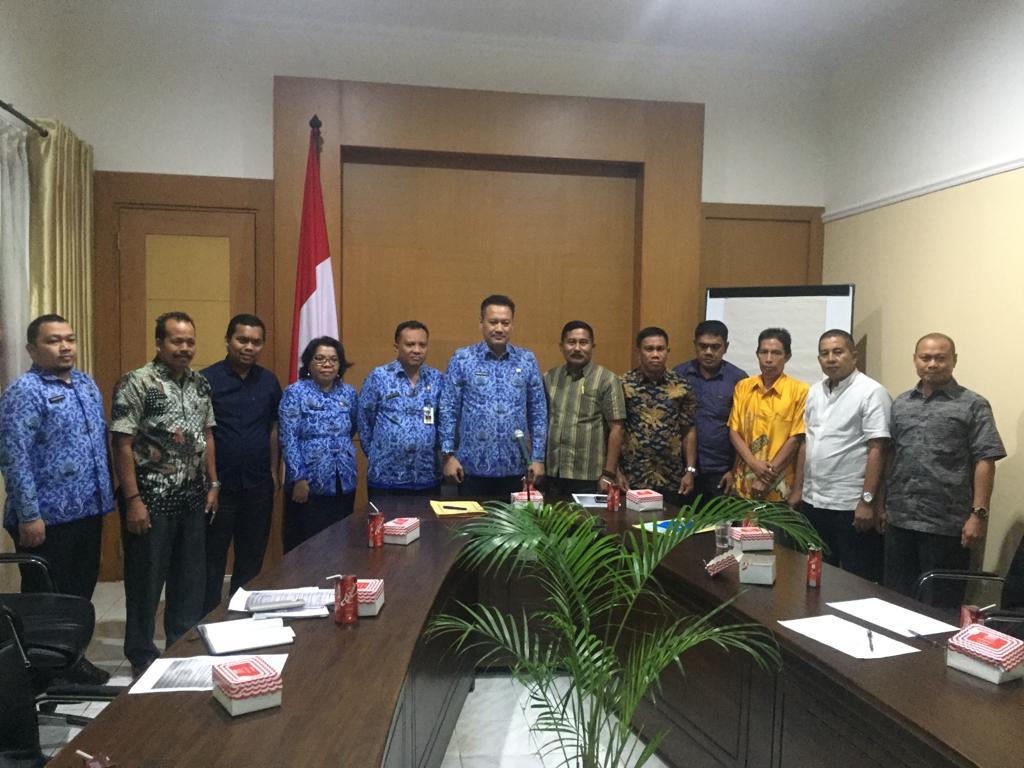 H Ahsanul Pimpin Komisi I Kunker ke Kesbangpol Sulsel, Bahas SKT