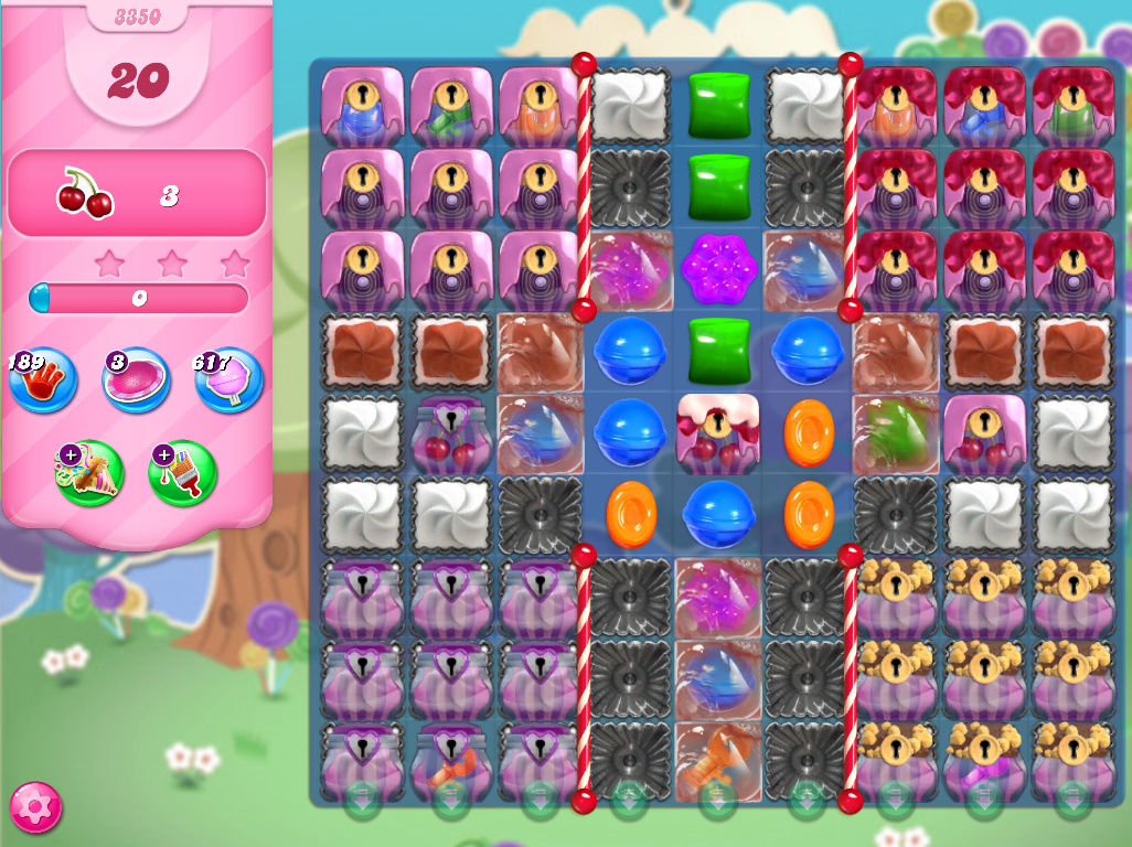 Candy Crush Saga level 3350