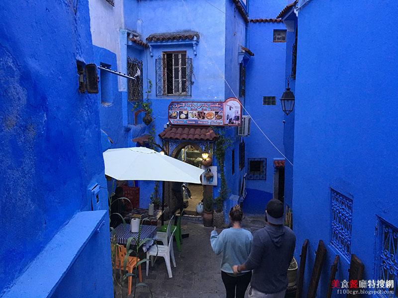 [摩洛哥] 舍夫沙萬/老城區巷弄內【Bab Ssour】價格實惠 餐點美味 品嘗道地摩洛哥美食