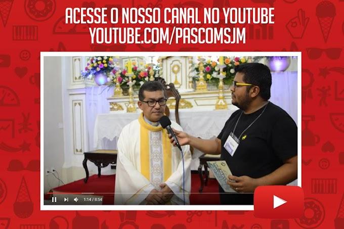 ACESSE O NOSSO CANAL DO YOUTUBE