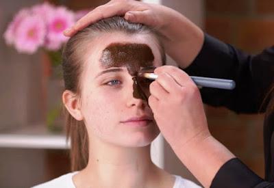 Applying The Facial Mask
