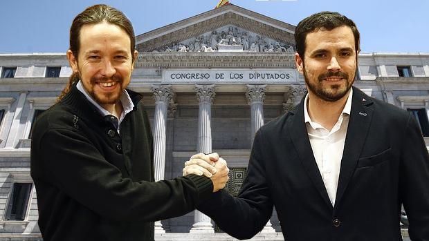 Podemos e Izquierda Unida irán juntas a las elecciones generales el 26J