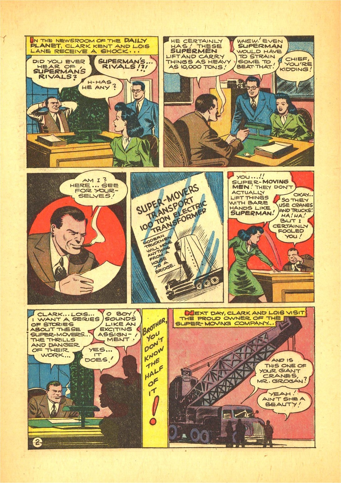 Read online Action Comics (1938) comic -  Issue #72 - 3